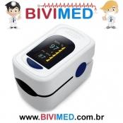 Oxímetro de pulso de dedo OLED Saturação de oxigênio de sangue SPO2 Monitor de PR
