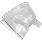 máscara facial para nebulização contínua protec adulto