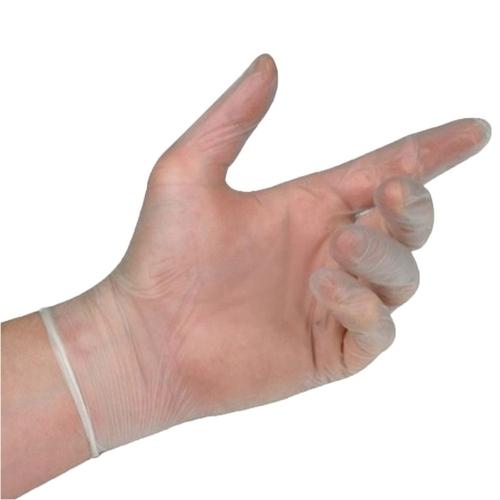 luva procedimento vinil descarpack não estéril sem pó transparente 100un.