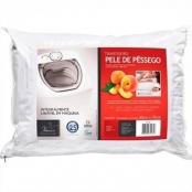 travesseiro pele de pêssego lavável 50x70 4565 fibrasca