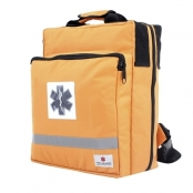 Bolsa Mochila Fibra Resgate 729 Cruz da Vida Laranja