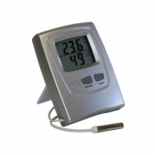 termo-higrômetro digital, temperatura interna/externa,max/mín e umidade interna 766602000 - incoterm