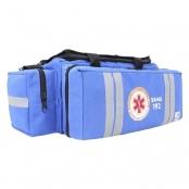 bolsa de atendimento pré-hospitalar fibra resgate aph-730 samu azul
