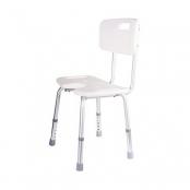 cadeira de acessibilidade para banho modelo 1 branco astra