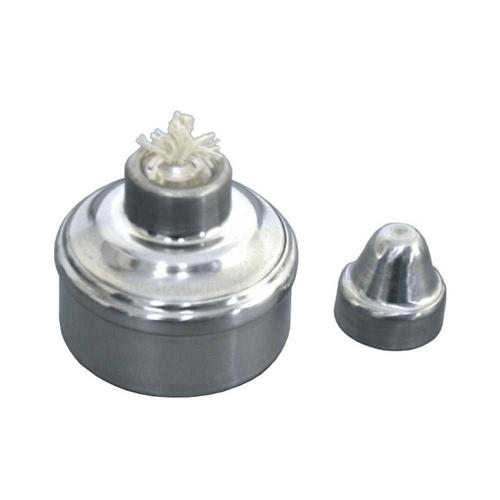 lamparina boca larga 100ml em alumínio orto central