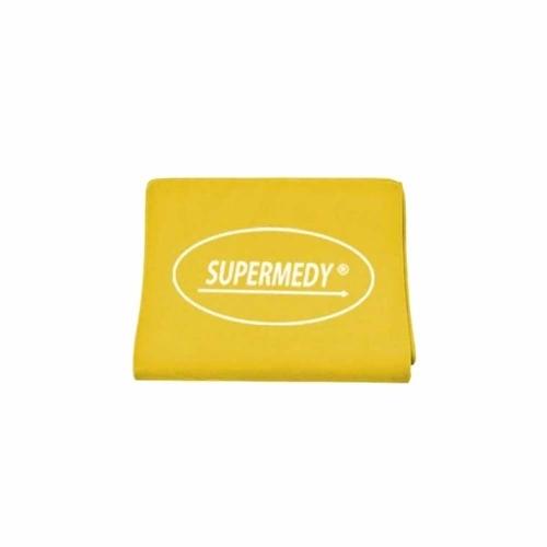 faixa elástica de resistência supermedy super band - amarela (suave)