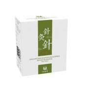 agulha para acupuntura tony estéril em aço inoxidável 0,25x40mm (caixa com 1000 unidades)