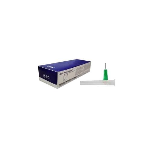 agulha descartável bd 21g 25x0,80 (caixa com 100 unidades)