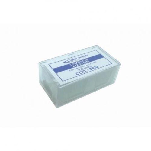lamínula p/ microscopia 24x50 labor c/1000