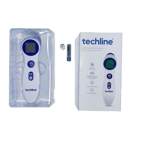 termômetro infravermelho digital tsc-400 techline