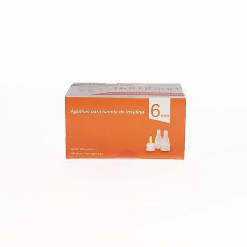 agulha p/caneta insulina uniqmed 31g 06mm cx/100 e-6