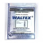 bolsa colostomia plástica 35mm c/10 pré-cortada waltex