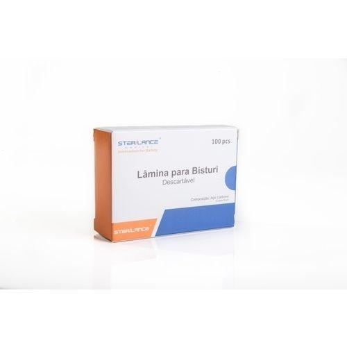 lamina bisturi sterilance carb 15 c/100