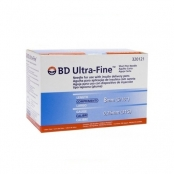 agulha p/caneta insulina bd 08x0,25mm c/100 31g
