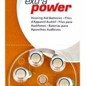 BATERIA PARA APARELHO AUDITIVO 312 EXTRA POWER