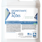 D4 AÇÕES - DESINFETANTE - 5 Litros - Perol