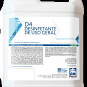 D4 DESINFETANTE USO GERAL - 5 Litros - Perol
