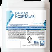 D4 MAX HOSPITALAR - DESINFETANTE - 5 Litros - Perol