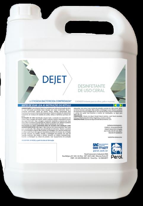 DEJET - DESINFETANTE - 5 Litros - Perol