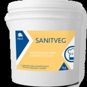 SANITVEG - DESINFETANTE PARA ALIMENTOS - 1 Quilo - Perol
