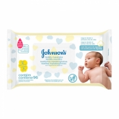 Toalhas Umedecidas Johnson's Baby Recém Nascido 96 Unidades