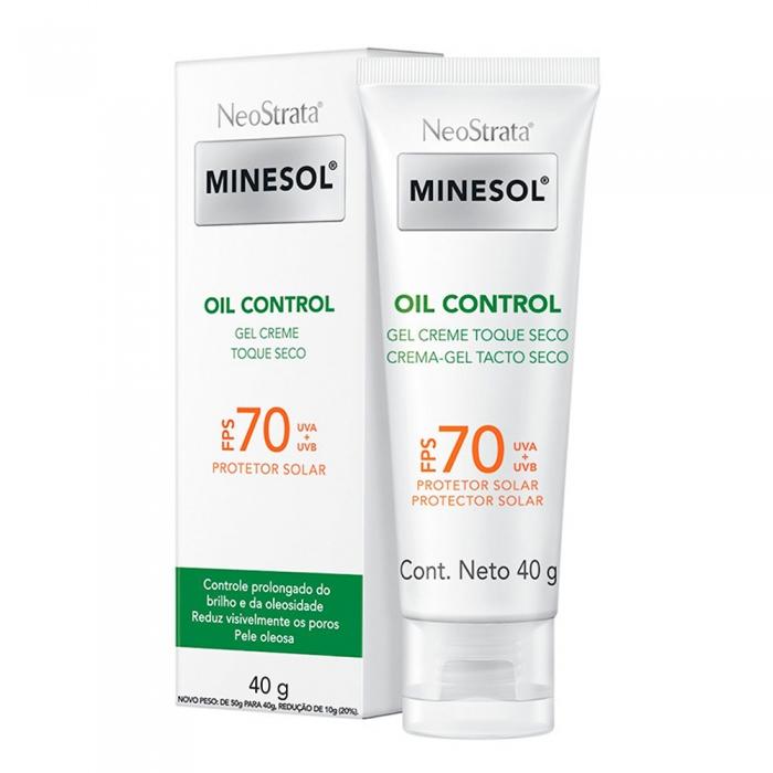 Protetor Solar NeoStrata Minesol Oil Control FPS 70 Gel Creme 40g