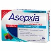 Sabonete Asepxia Esfoliante Ação Anticravos 80g