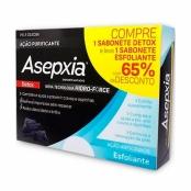 Sabonete Asepxia Detox Ação Purificante 80g e Leve Sabonete Esfoliante 80g com 65% de Desconto