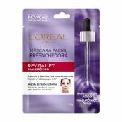 Máscara Facial L'oréal Preenchedora Revitalift Hialurônico Sachê 30g