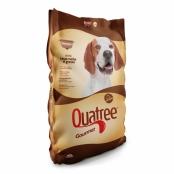 Ração para Cães Quatree Gourmet Adultos Raças Médias e Grandes Livre de Corantes 15Kg