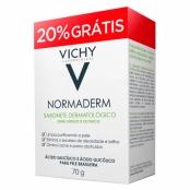 Normaderm Vichy Sabonete em Barra 70g e Ganhe  20%