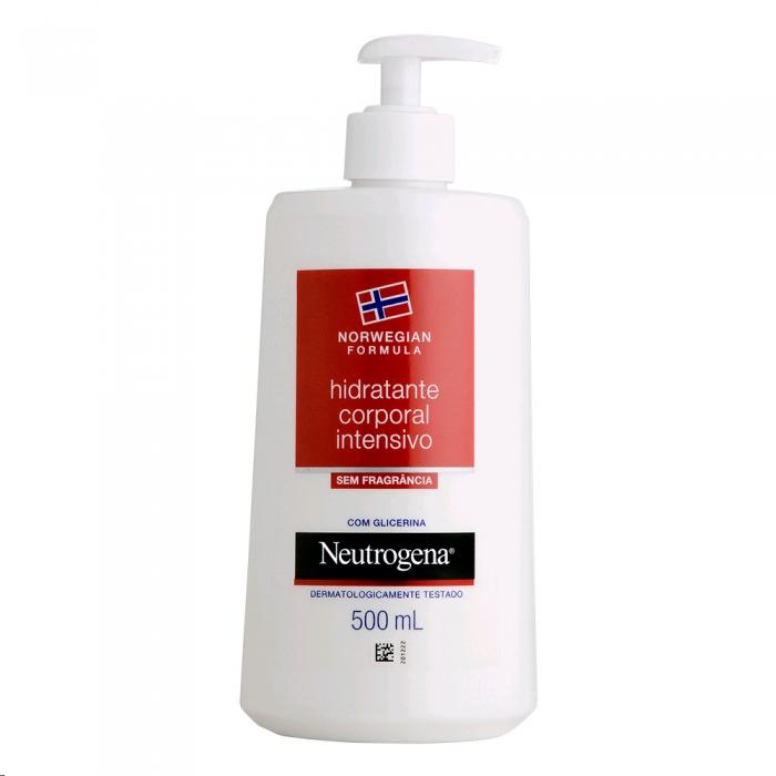 Hidratante Intensivo Corporal Neutrogena Norwegian Sem Perfume 500ml