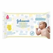 Toalhas Umedecidas Johnson's Baby Recém Nascido 48 Unidades