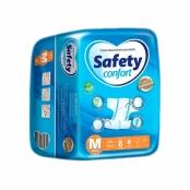 Fralda Geriátrica Safety Confort Tamanho M 8 Unidades