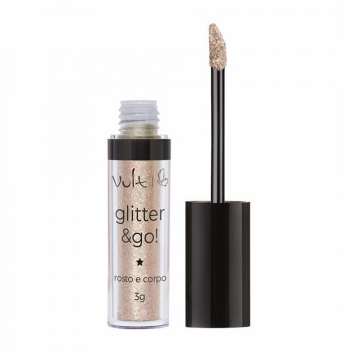 Glitter & Go! Rosto e Corpo Vult Cor Pote de Ouro com 3g