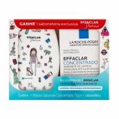 Sabonete Facial em Barra Effaclar Concentrado La Roche-Posay 70g e Ganhe 1 Saboneteira Desenhos Sortidos