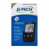 G-Tech Free Lite Kit Monitor de Glicemia com 1 Aparelho + 1 Lancetador + 10 Lancetas + 10 Tiras Teste