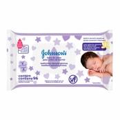Toalhas Umedecidas Johnson's Baby Hora do Sono 96 Unidades