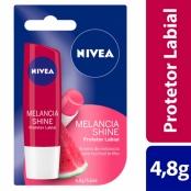 Protetor Labial Nivea Fruity Shine Melancia Stick 4,8g