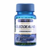 Óleo de Alho Desodorizado Catarinense com 60 Cápsulas