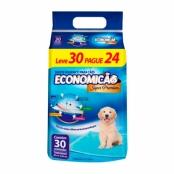 Tapete Higiênico para Cães Economicão Super Premium Leve 30 Pague 24 unidades