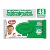 Toalha Umedecida Huggies Max Clean Turma da Mônica 48 Unidades