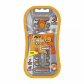 Aparelho de Barbear Bic Comfort 3 Hybrid 1 Aparelho + 6 Cartuchos