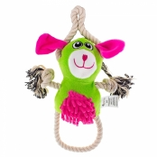 Brinquedo Veterinário Mais Dog Batiki Pelúcia Bichinho Verde