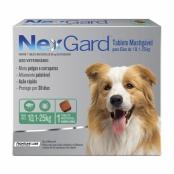 NexGard Contra Pulgas e Carrapatos para Cães de 10,1 a 25kg com 1 Tablete Mastigável