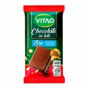Chocolate Vitao Ao Leite com Cereais Zero Açúcar 30g