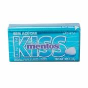 Balas Mentos Kiss Mint sem Açúcar 35g