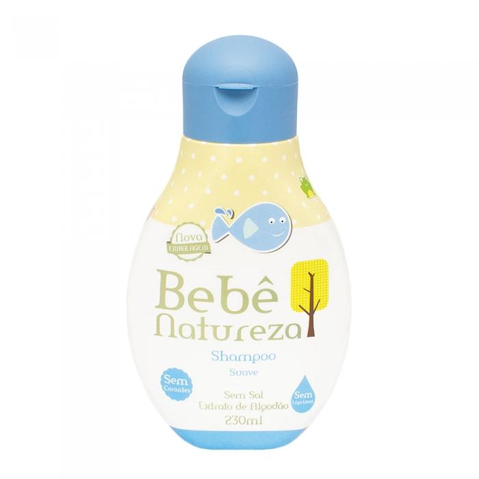 Shampoo Bebê Natureza Suave com 230ml