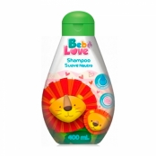 Shampoo Bebê Love Suave Neutro 400ml