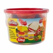 Mini Balde Play Doh Massinha de Modelar Kits Sortidos com 226g